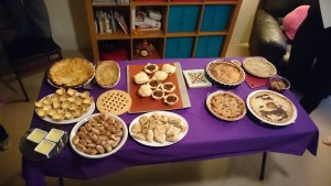 Pi Night spread